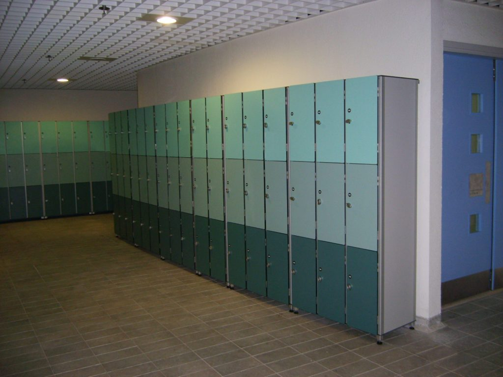 szafki systemowe - HPL