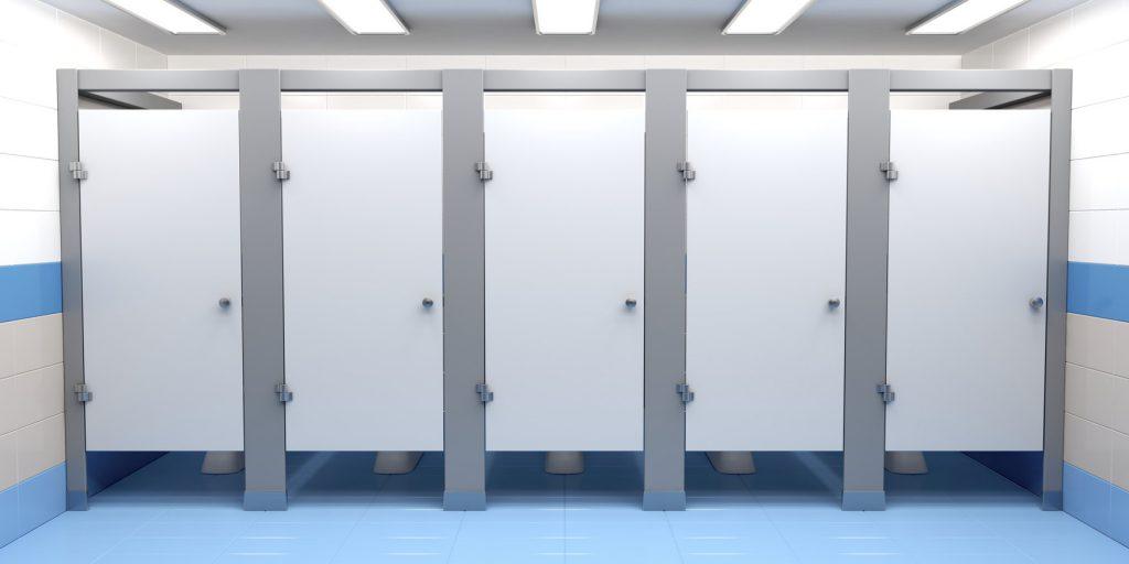 toaleta HPL