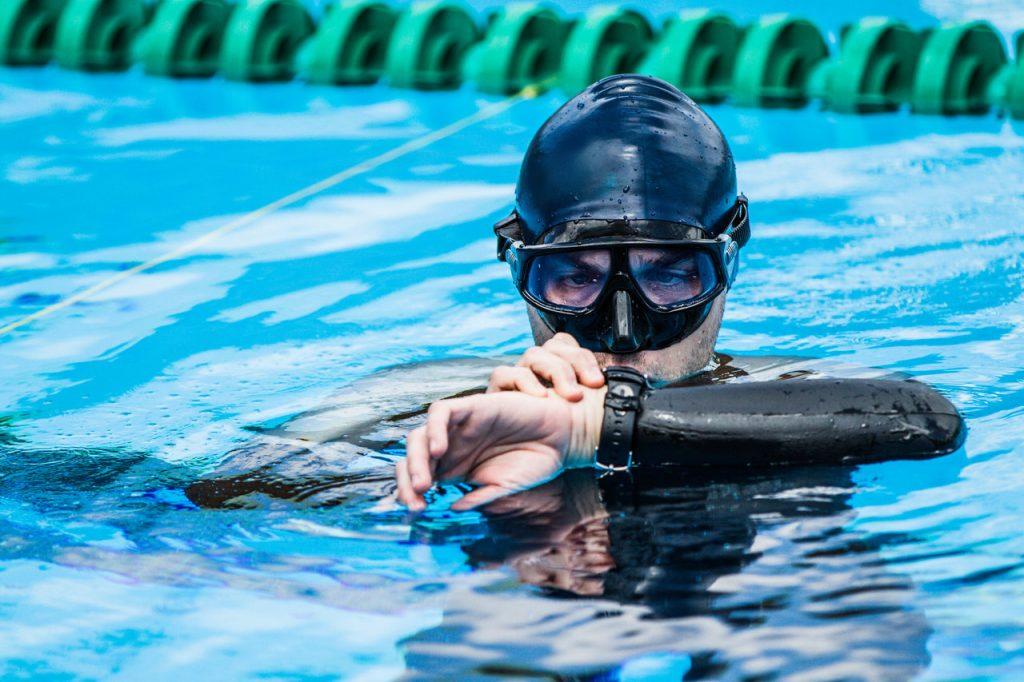 Pływanie z Garmin Fenix